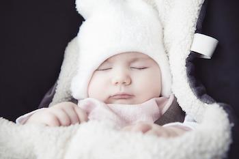 Baby Einschlagdecke