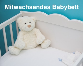 Mitwachsendes Babybett zum Umbauen